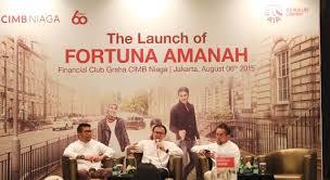 "CIMB Niaga Digandeng AIA Financial Untuk Pasarkan Produk ""Fortuna Amanah"""