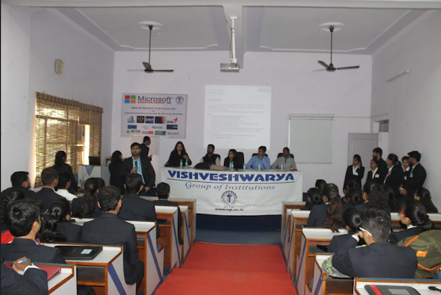 Visveshwarya Institute organizes job fair; over 100 students placed