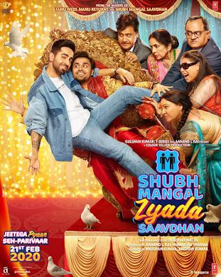 Shubh Mangal Zyada Saavdhan 2020 Hindi 720p Pre-DVDRip 1.2Gb