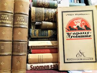 Kirjahuutokauppakirjoja