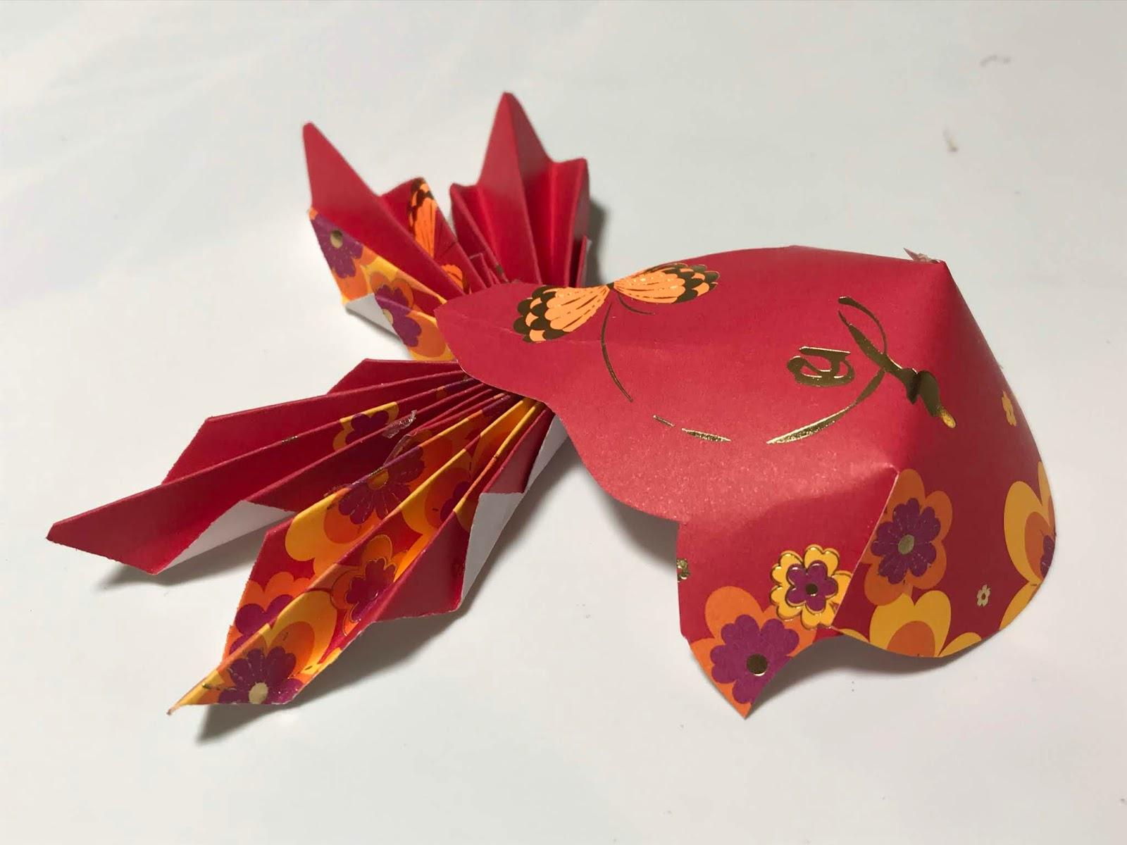 Tutorial: How to make an Origami koi Fish - YouTube | 1200x1600