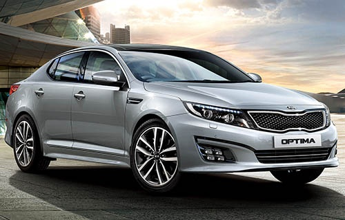 Spesifikasi Mobil Kia All New Optima