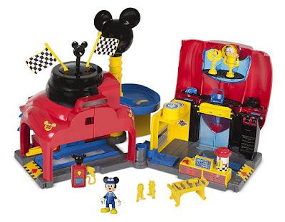 MICKEY Y LOS SUPERPILOTOS - Taller de Mickey : Garage | IMC toys | Serie Television 2017 | Disney Junior | JUGUETE CONTENIDO
