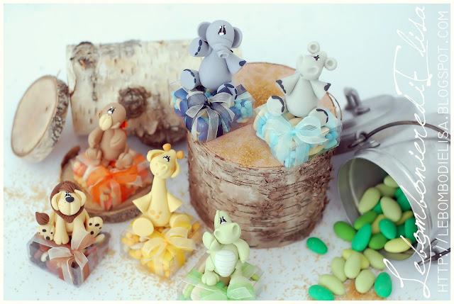 bomboniere battesimo animaletti