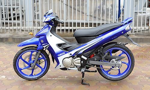 Yamaha 125zr 2016 tại Sài Gòn 2