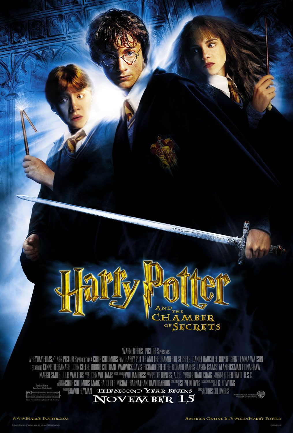 MoviE Picture: Harry Potter and the Chamber of Secrets [2002]