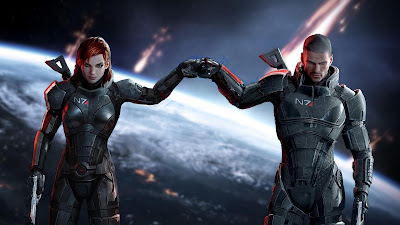 mass effect shepard hd wallpaper