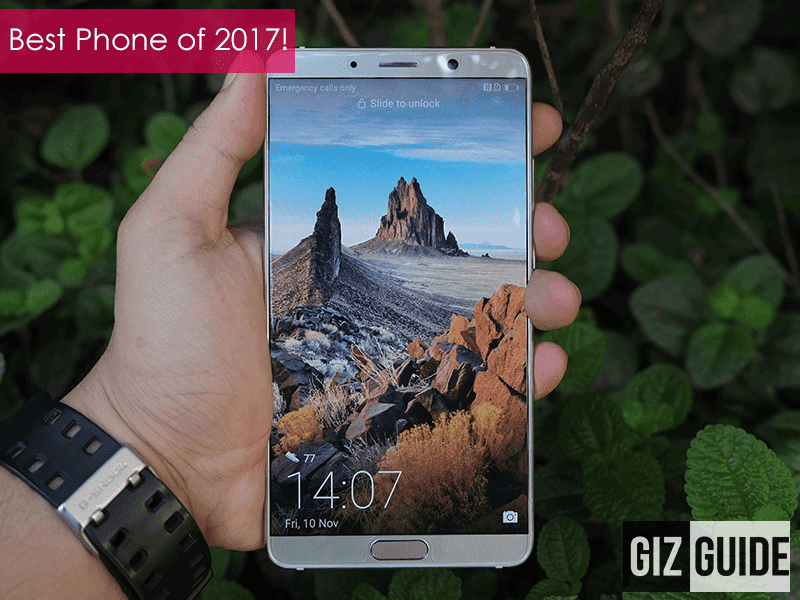 Editor's Choice: Best Smartphone of 2017 - Huawei Mate 10!