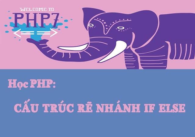 Bài 7: Cấu trúc rẽ nhánh if...else...elseif trong PHP