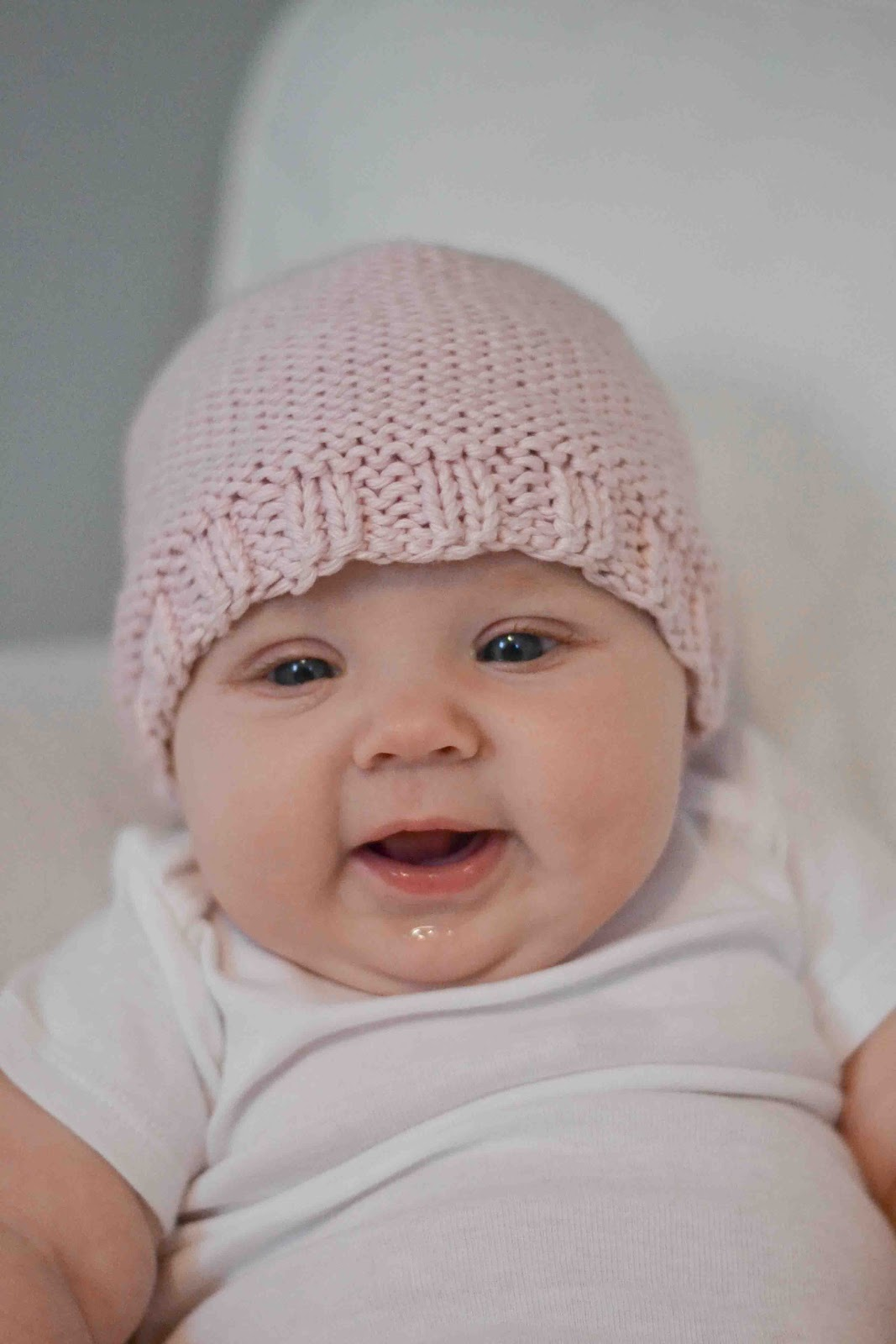 Little And Lovely Ella S Favorite Knit Baby Hats