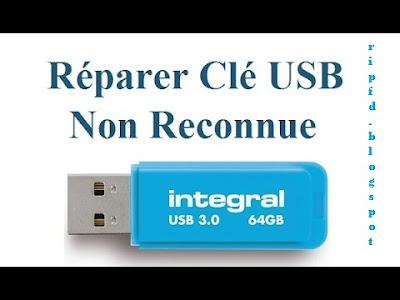 Clé USB, clef usb, reparer cle usb, réparer clé usb, Réparer une clé USB, repair usb, reparar usb, reparar pendrive, USB indétectable,