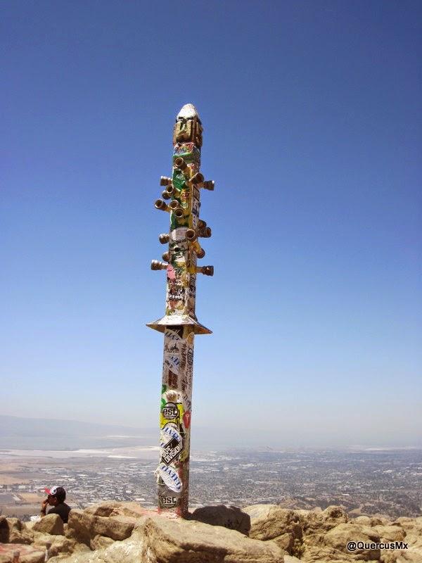 El poste de Mission Peak