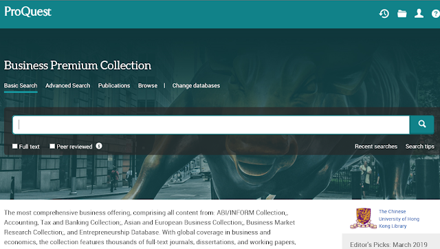 ProQuest Business Premium Collection