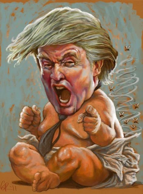 Baby Trump Tantrum
