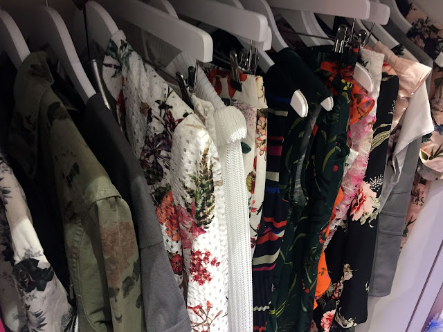 Eldon Square Walk-in wardrobe fashion experience florals