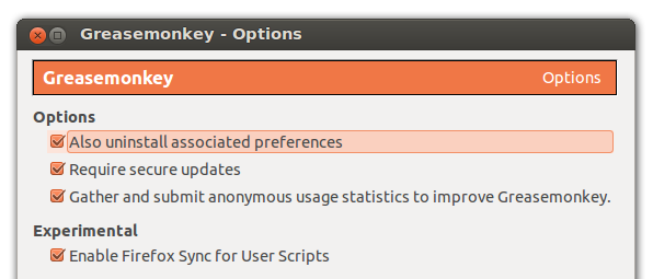 Greasespot: Firefox Sync coming to Greasemonkey