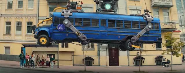 EL autobús del Fortnite