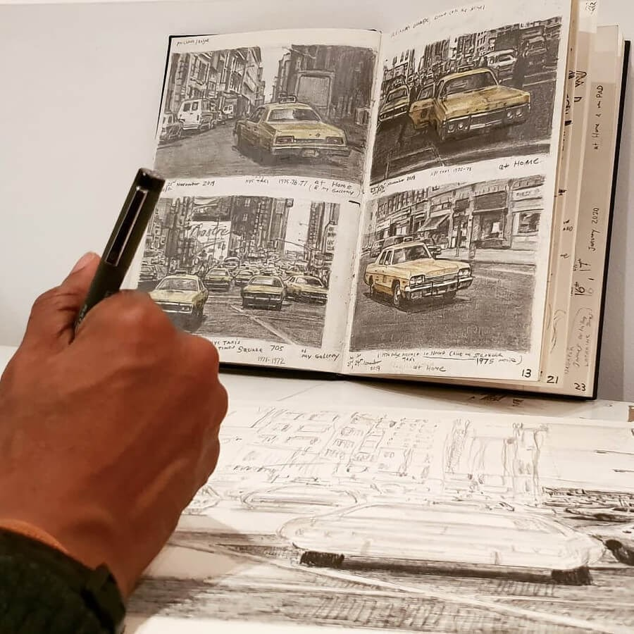 03-New-York-sketchbook-Stephen-Wiltshire-Urban-Cityscapes-www-designstack-co