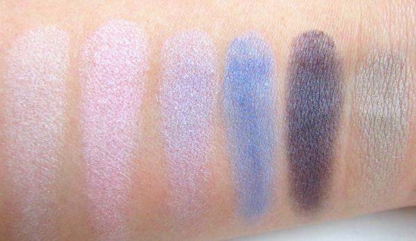 essence Cinderella - Eyeshadow Palette 01 It´s more than I ever hoped for - Swatches Tageslicht trocken
