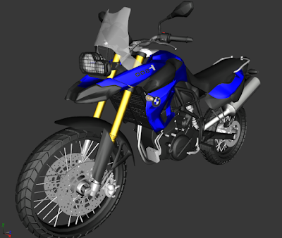 GTA SA - BMW F800GS 14.2 MB