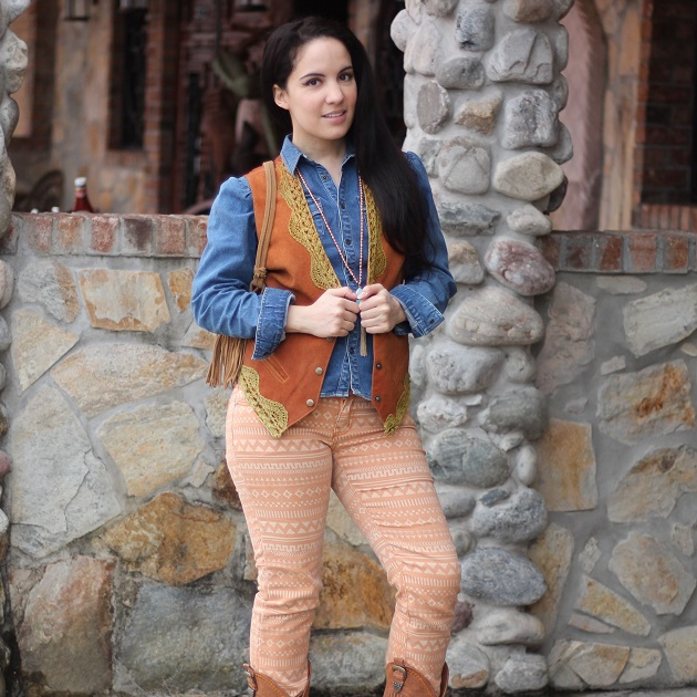 Cowgirl Style Outfit