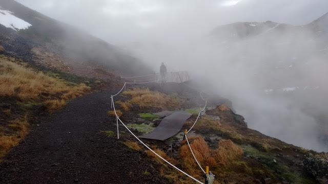 Hveragerdi, gorące źródła Islandia