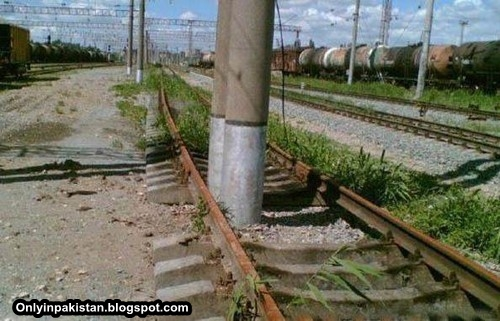 Funny Pakistani railways