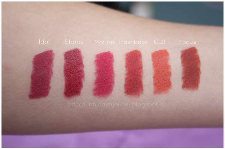 Neve Cosmetics: Drama Empire Collection - Preview & Swatch