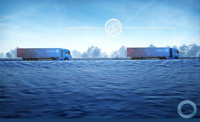 ZF se prepara para tornar possível a formação de comboios de caminhões