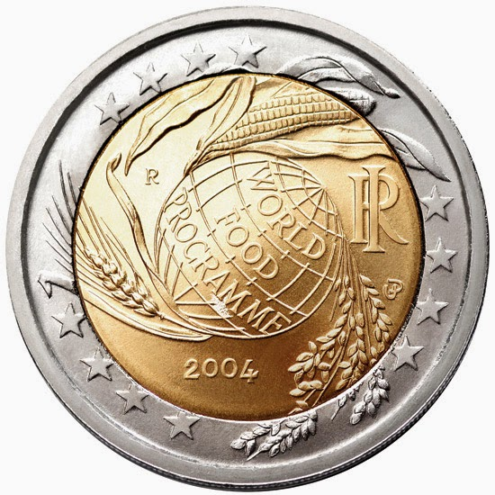 2 euro Italy 2004, World Food Programme