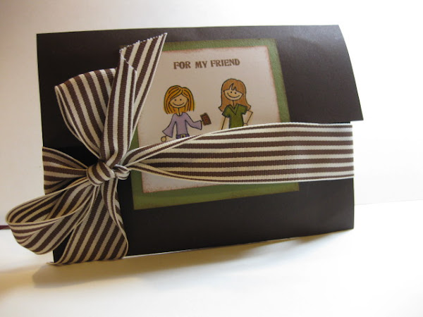 Gatefold Treat Card