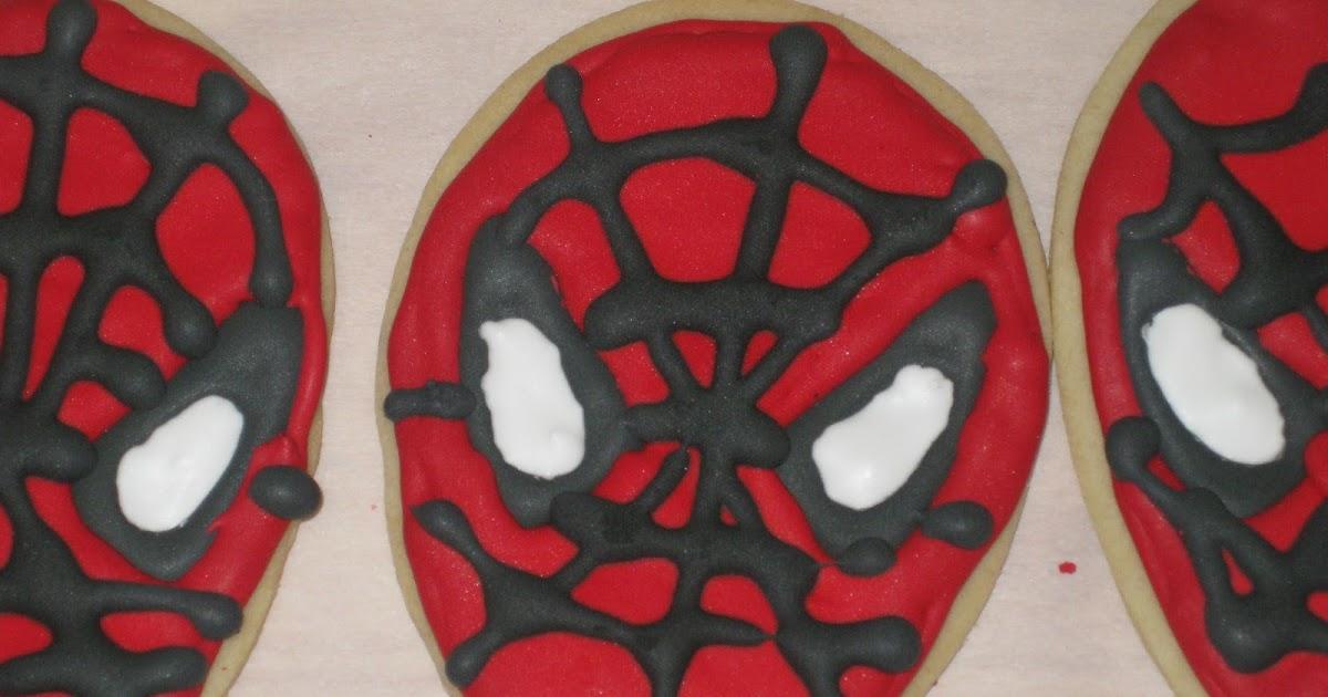 Heaven Scent Creations Spiderman Cookies