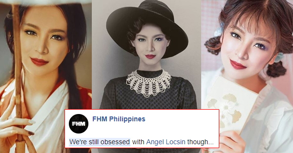 FHM Reveals That They Are Still Obsessed With Angel Locsin!