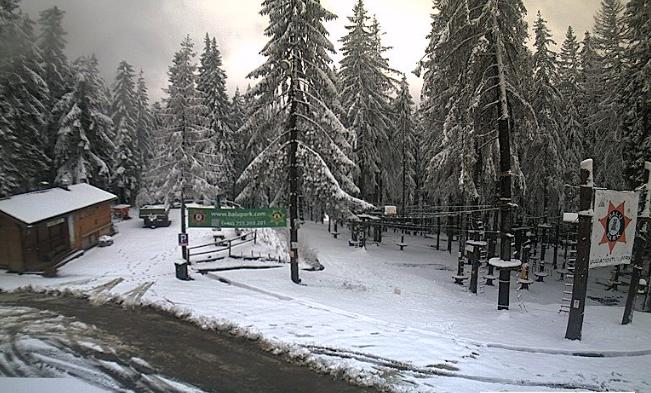 időjárás, Hargitafürdő, Székelyföld, havazás,