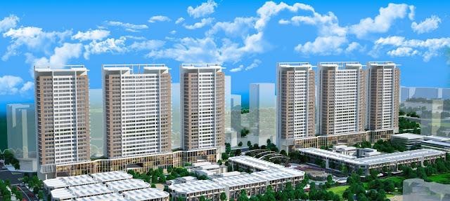 Phối cảnh toàn khu Khai Sơn City