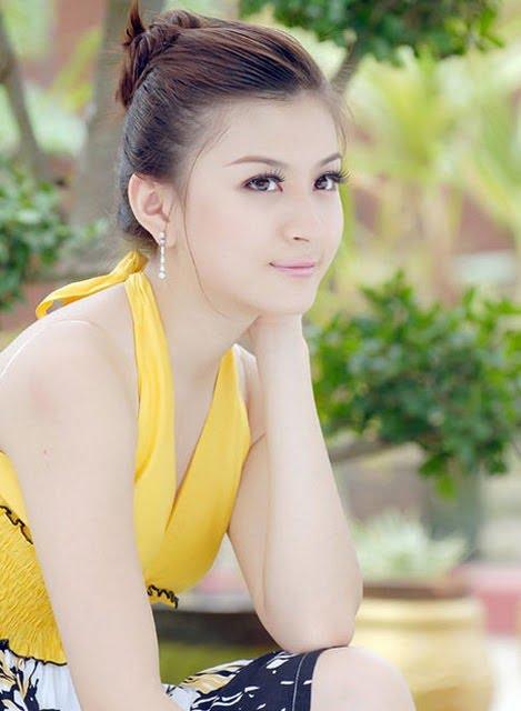 Hot Girlsyoung Girlssexy Girls Myanmar Beautiful Attress-1731