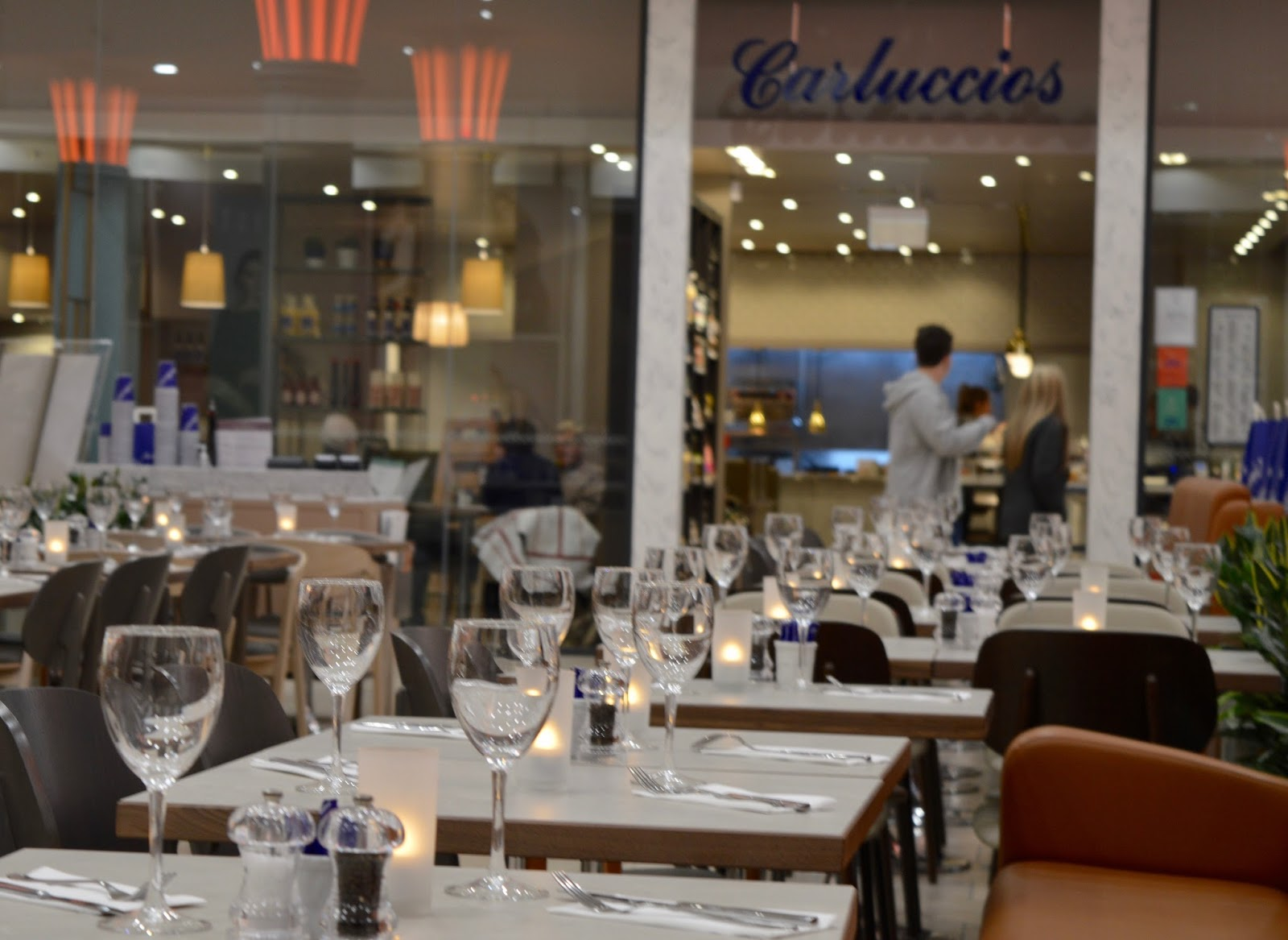 Carluccio's - intu Metrocentre | Children's Menu Review - Platinum mall outdoor seating