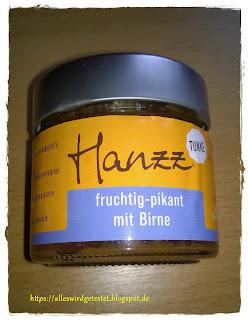 Hanzz Tunke fruchtig-pikant mit Birne