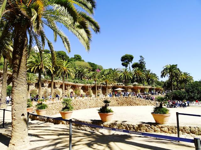 Zwiedzanie Park Guell