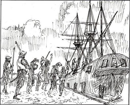 Slavery white slave trade for