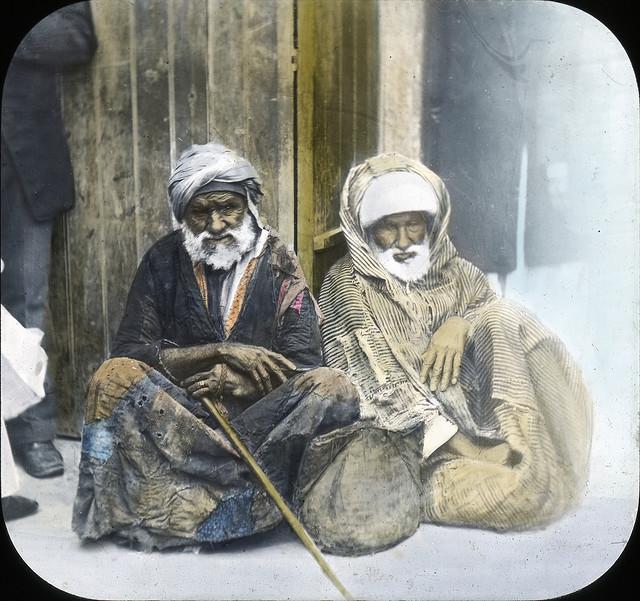 Egypt - Beggars, Alexandria. Brooklyn Museum Archives.