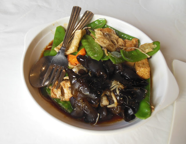 Parrot House Restaurant, Kensington, Luohan vegetables