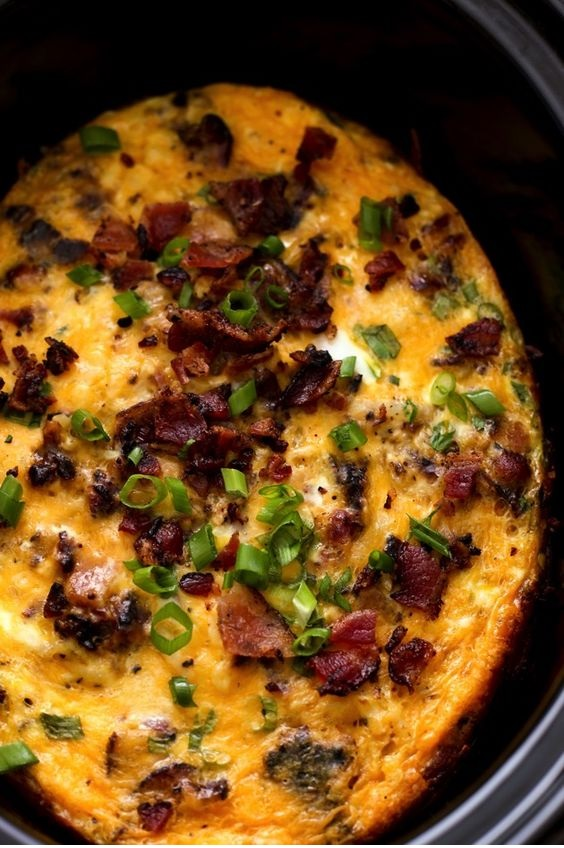 Bacon, Egg & Hash Brown Casserole