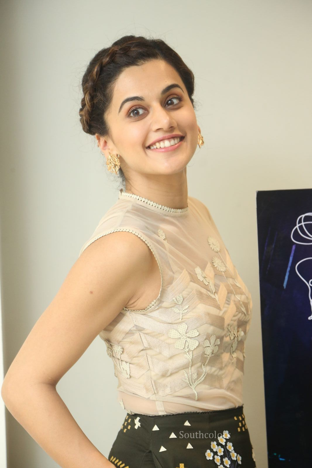 taapsee pannu stills at anando brahma trailer launch southcolors%2B%252815%2529