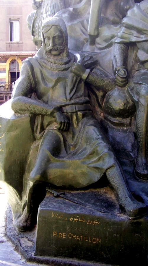 Renaud de Châtillon, senhor díscolo e caprichoso pôs o reino a perder