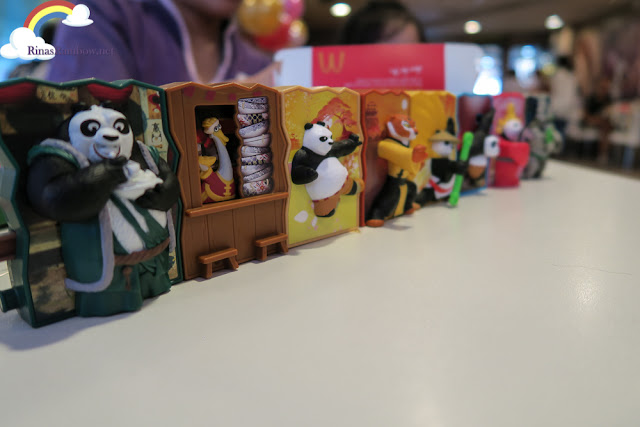 Kung Fu Panda Happy Meal Toy set