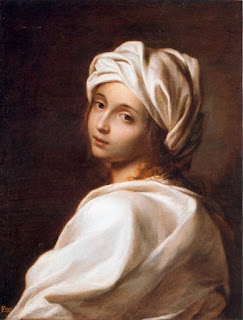Guido Reni's portrait of Beatrice, in prison clothes, is thought to have been painted in 1662