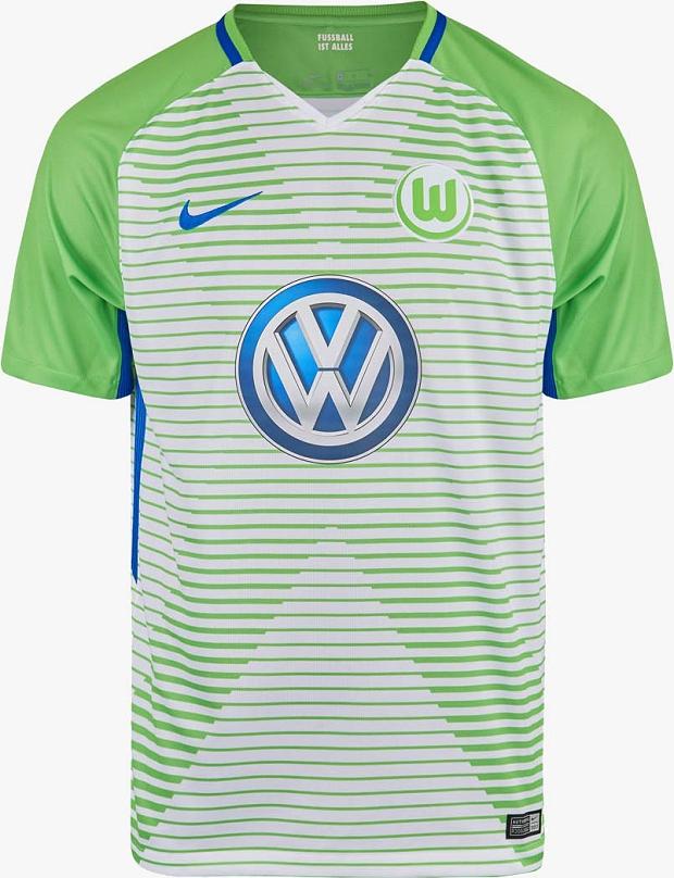 88dc59e1bddc2 Nike apresenta as novas camisas do Wolfsburg - Show de Camisas