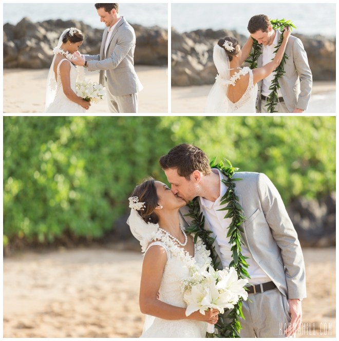 Wailea Sunset Elopement Photography