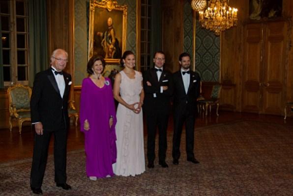 Swedish royals host Representation Dinner